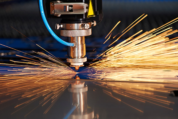 Laser cutting American Industrial Company