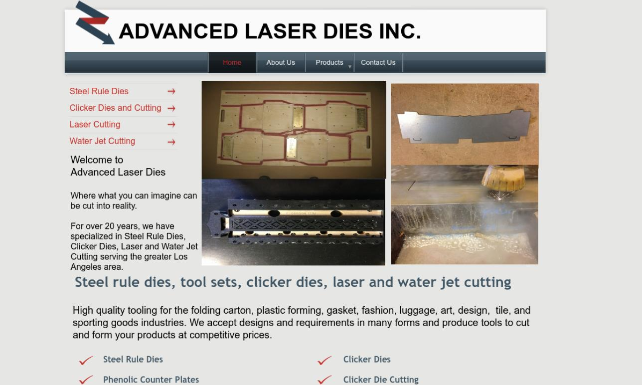 Advanced Laser Dies, Inc.
