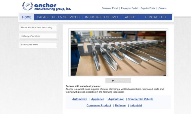 Anchor Manufacturing Group, Inc.