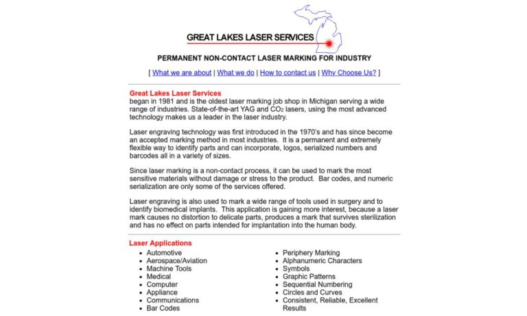 Great Lakes Laser Services