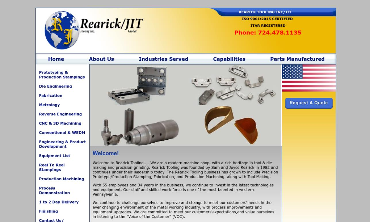 Rearick Tooling, Inc.