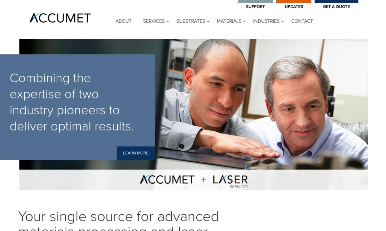 Laser Services, Inc./ Accumet