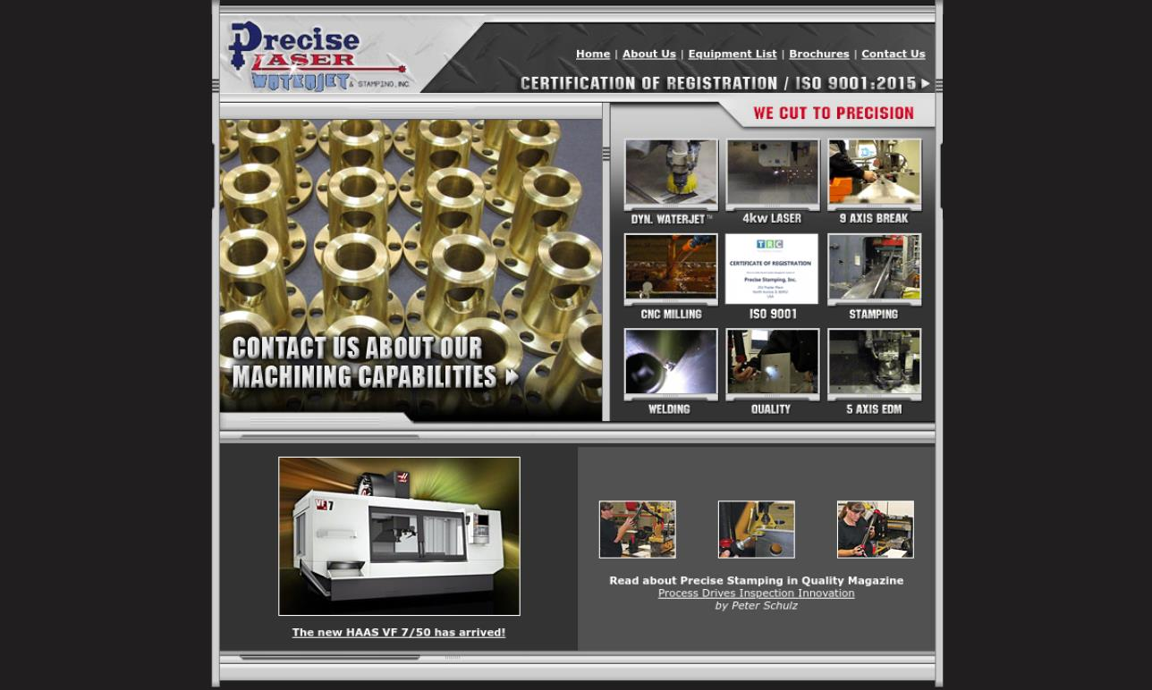 Precise Stamping, Inc.