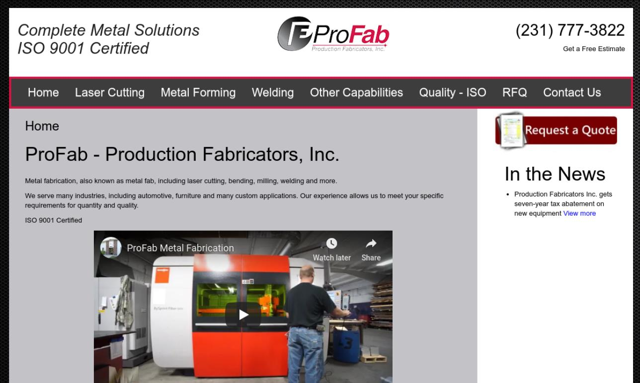Pro-Fab Production Fabricators, Inc.