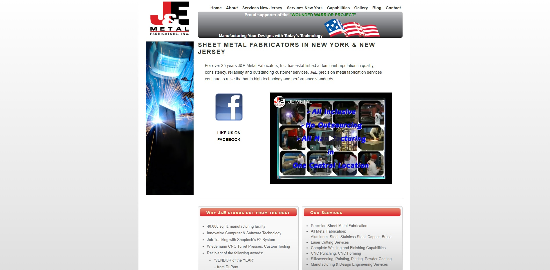J & E Metal Fabricators, Inc.