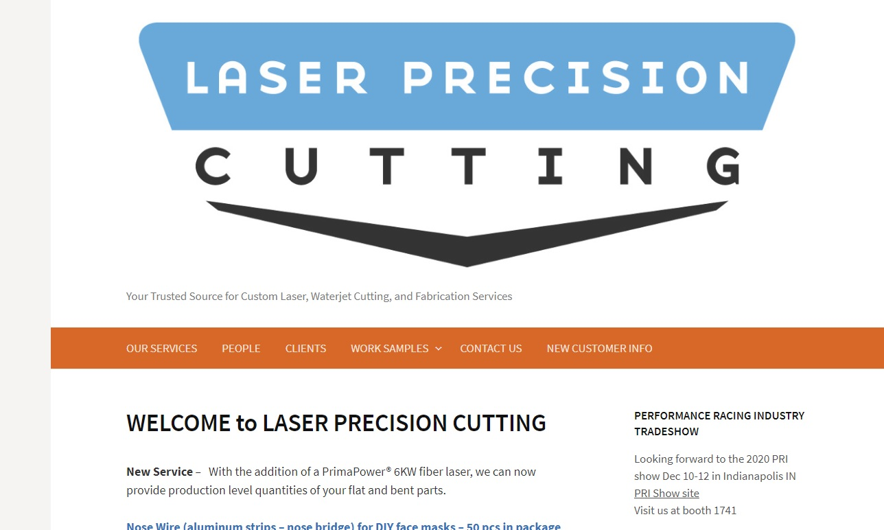 Laser Precision Cutting, Inc.